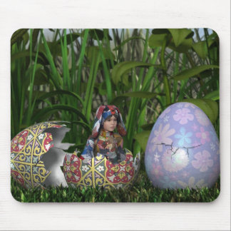Egg-spectations Mouse pad