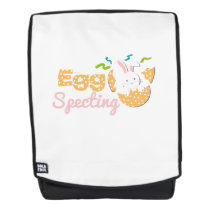 Egg Specting Maternity - Funny Easter Pregnancy Backpack