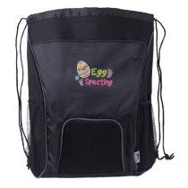 Egg Specting Maternity - Funny Easter Pregnancy Drawstring Backpack