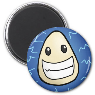 Egg-Static 2 Inch Round Magnet