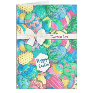 Egg-stavaganza Pastel Easter Eggs Card