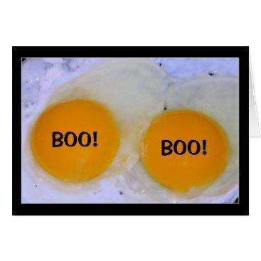 Halloween Themed Egg-stra Bootiful Halloween! Card