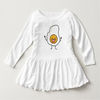Egg Sunny-Side Up Happy Eggs Breakfast Dress