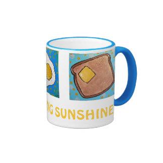 Egg, Toast, Donut - Good morning sunshine MUG