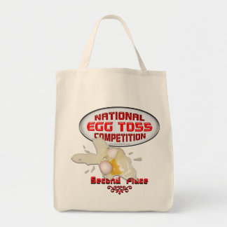 Egg Toss Second Place Tote Bags