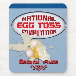 Egg Toss Second Place Mouse Pad