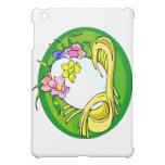 egg with flower tiara green oval.png iPad mini covers