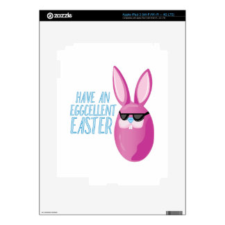 Eggcellent Easter Decal For iPad 3