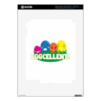 Eggcellent iPad 3 Decals
