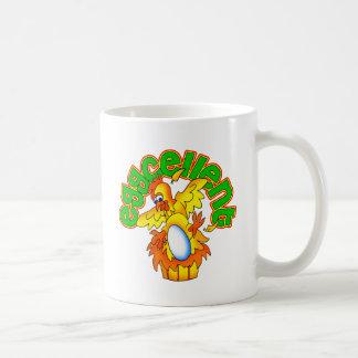 Eggcellent Classic White Coffee Mug