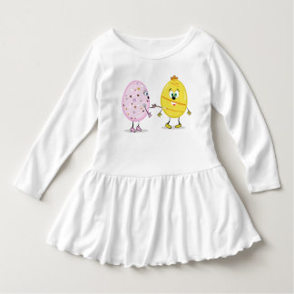 Eggcellent Painter Toddler Ruffle Dress