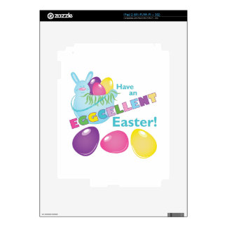 Eggcellent Pascua Calcomanía Para El iPad 2