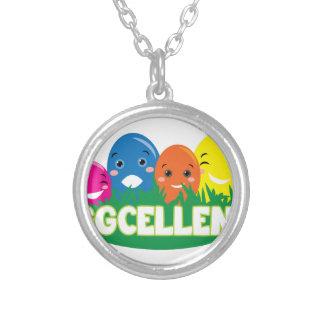 Eggcellent Round Pendant Necklace
