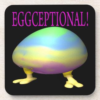 Eggceptional Beverage Coaster