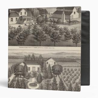"Egger, residencias de Haines, granjas Carpeta 1 1/2"""