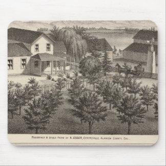 Egger, residencias de Haines, granjas Mousepads