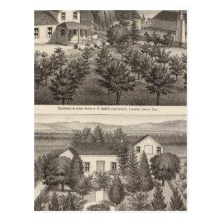 Egger, residencias de Haines, granjas Postales