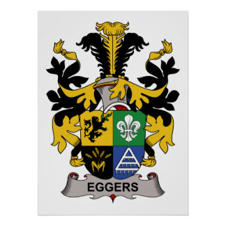 Eggers Family Crest Posters