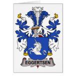 Eggertsen Family Crest Greeting Cards