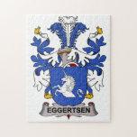 Eggertsen Family Crest Jigsaw Puzzle