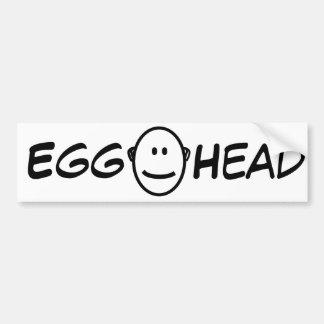 EggHead Bumper Sticker