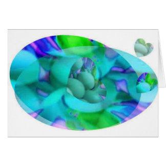 EggHeart Swirl Card