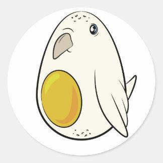 Eggie Birble Classic Round Sticker