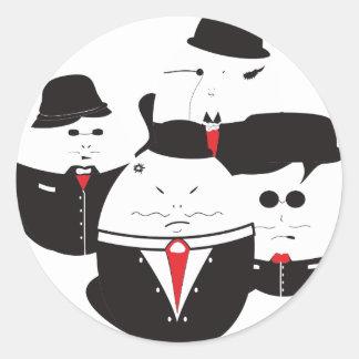 Eggioso Classic Round Sticker