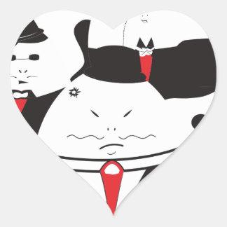 Eggioso Heart Sticker