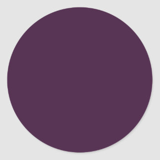 Egglant oscuro pegatinas redondas