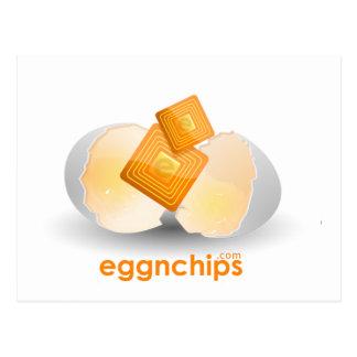 Eggnchips Merchandise Postcard