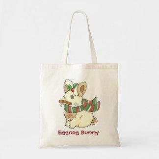 Eggnog Bunny Tote Bag