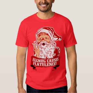 Eggnog Causes Flatulence T-Shirt