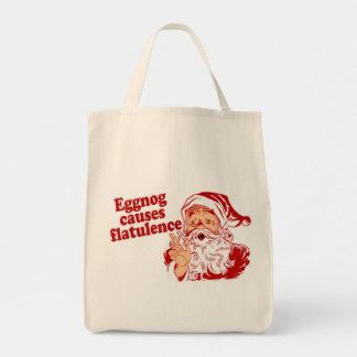 Eggnog Causes Flatulence Tote Bag