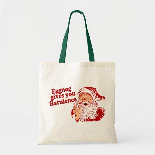 Eggnog Gives You Flatulence Budget Tote Bag