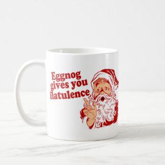 Eggnog Gives You Flatulence Coffee Mug