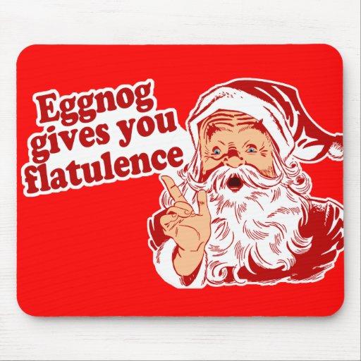 Eggnog Gives You Flatulence Mousepad