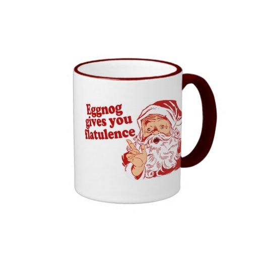 Eggnog Gives You Flatulence Mug