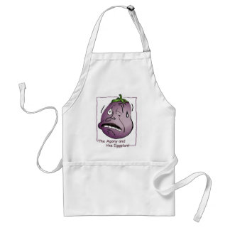 Eggplant, Agony and the Adult Apron