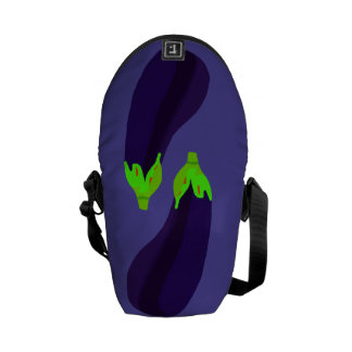 Eggplant Duo Courier Bag