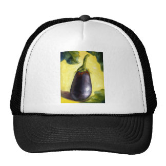 Eggplant Fine Art From Oil Painting Trucker Hat