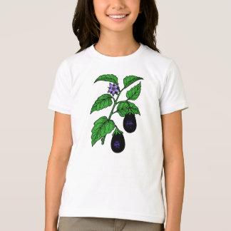 Eggplant Girls T-Shirt