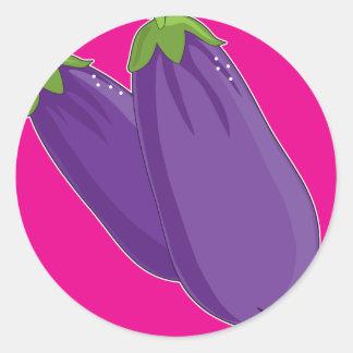 Eggplant Graphic Sticker