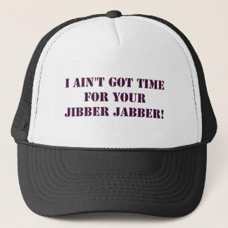 Eggplant Jibber Jabber Hat