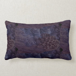Eggplant Lumbar Pillow