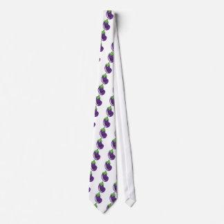 eggplant neck tie