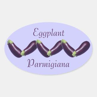Eggplant Parmigiana or Bread Canning Sticker Label