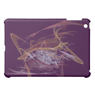 Eggplant scribble abstract  case for the iPad mini