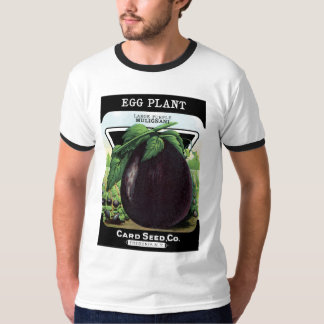 Eggplant Seed Packet Label T-Shirt