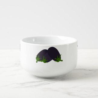 Eggplant Soup Mug